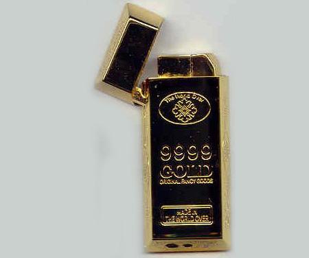 Gold Bar Lighter