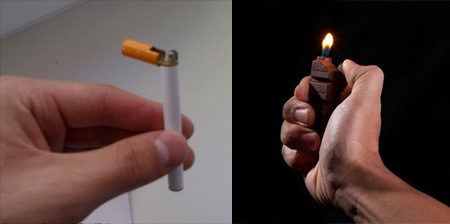 12 Unusual Cigarette Lighter Designs