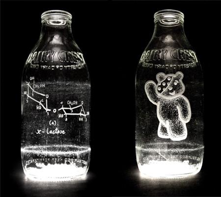Milk Bottle Engravings