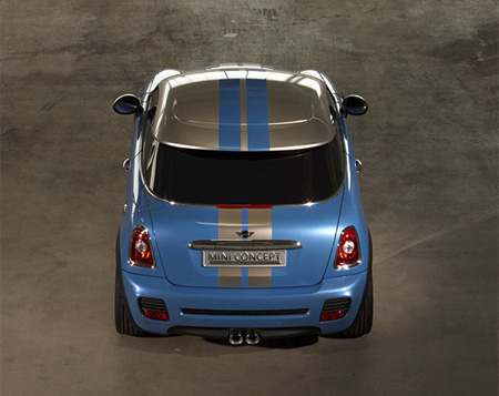 50th Anniversary MINI Cooper Coupe Concept