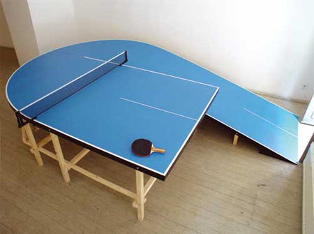Extreme ping pong table designs for Table ping pong