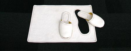 Bedside Rug Slippers
