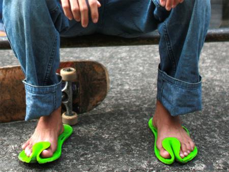 Futuristic Slippers