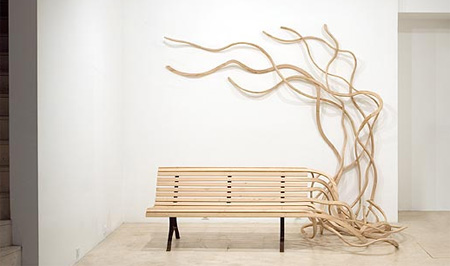Unusual Spaghetti Bench