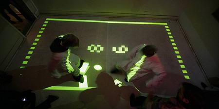 Futuristic Real Life Pong Game