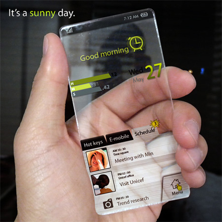 Window Cell Phone Concept