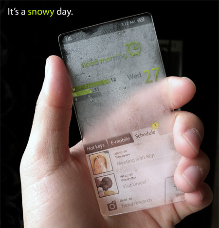 Weather Phone Concept