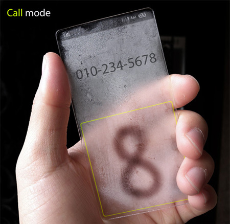 Weather Phone Concept by Seunghan Song