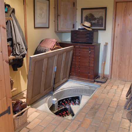 Cool Hidden Spiral Wine Cellars 6