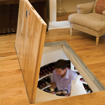 Cool Hidden Spiral Wine Cellars 7