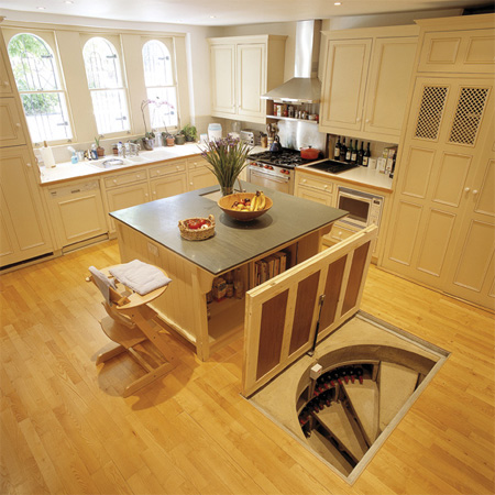 Cool Hidden Spiral Wine Cellars 9