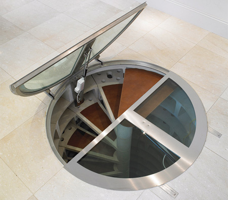 Cool Hidden Spiral Wine Cellars 10