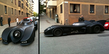 Batmobile Replica from Sweden