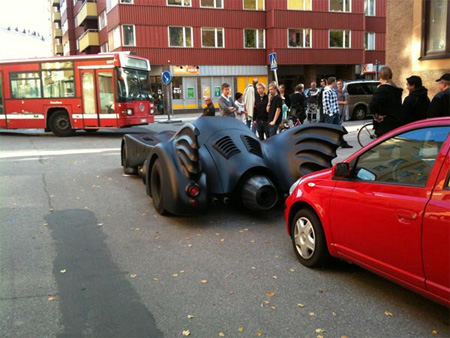 Batmobile Replica from Stockholm