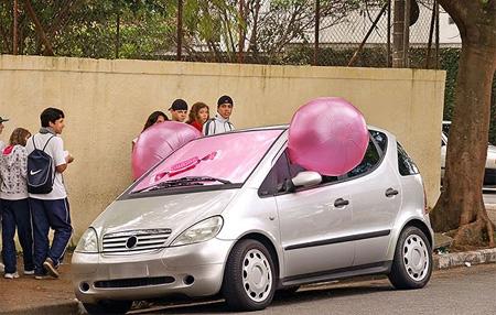 Big Big Gum Outdoor Advertisement