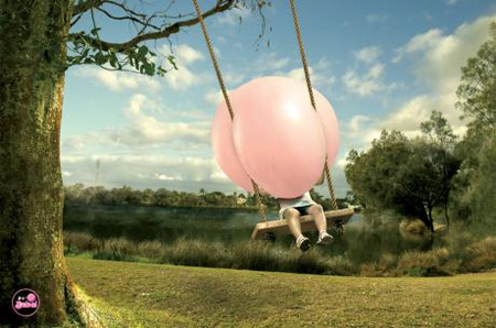 Big Babol Swing Advertisement