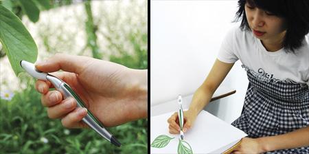Color Picker Pen Concept