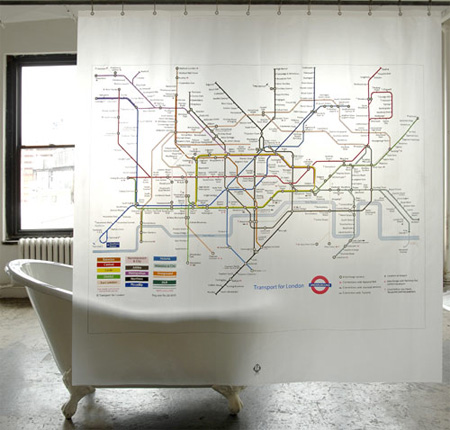 London Underground Curtain