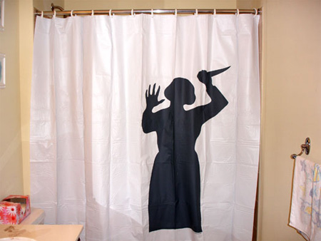 Psycho Mad Mother Curtain