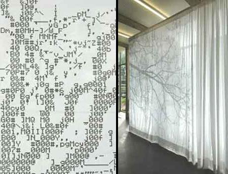 ASCII Curtain