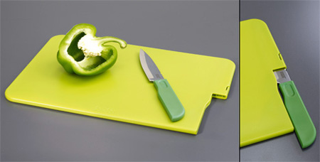 Cut and Store Cutting Board