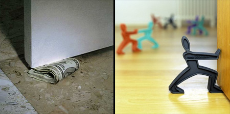 15 Unusual and Creative Doorstops