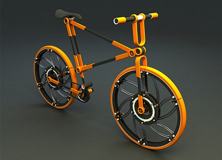 Folding Bicycle Concept
