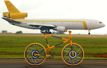 Cool Folding Bicycle Concept