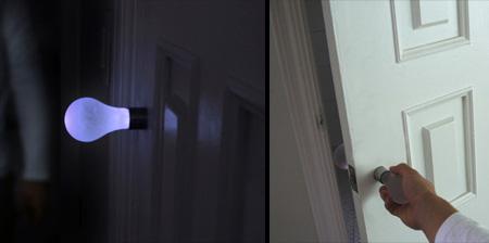 Light Bulb Door Handle Concept