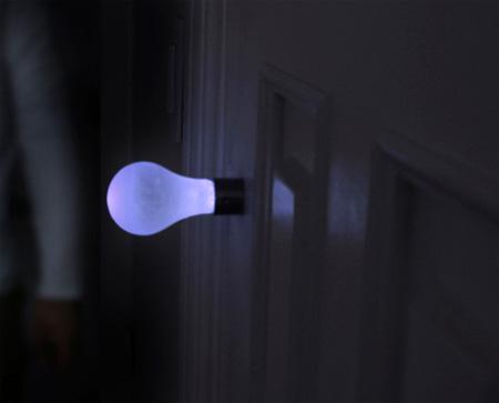 Light Bulb Knob Light