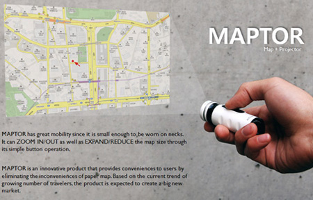 Maptor Portable Map Projector