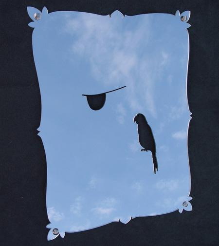 Pirate Self Portrait Mirror