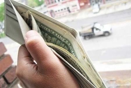 $100 Dollar Bill Wallet