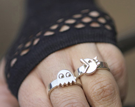 Ms Pac Man Rings