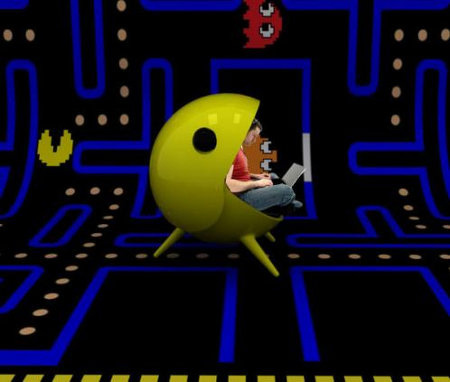 Pac Man Gaming Chair