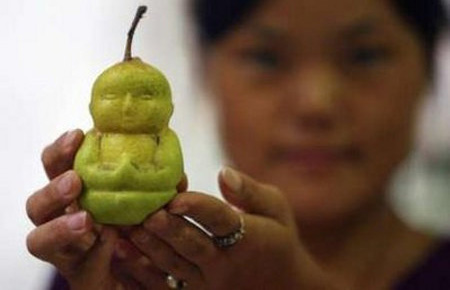 Baby Buddha Shaped Pears