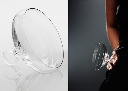 Cocktail Glass Ring