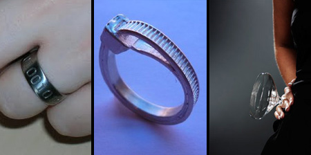 14 most creative wedding rings - Creative Wedding Rings