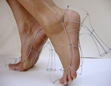 Wireframe Shoes