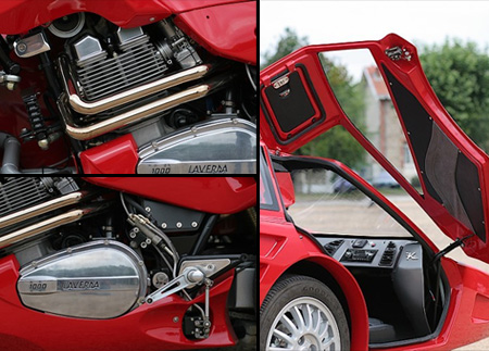 Motorcycle and Sports Car Hybrid