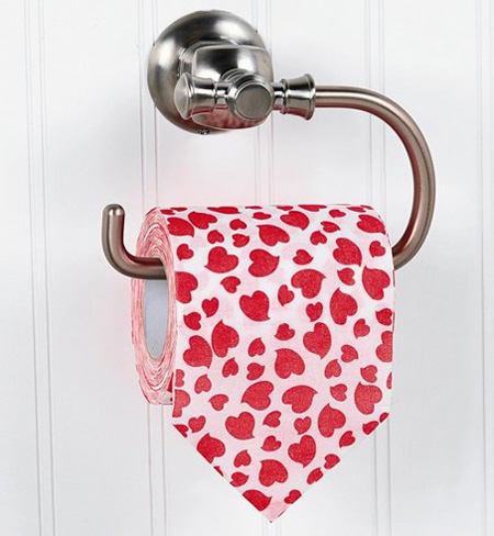 Valentines Day Toilet Paper