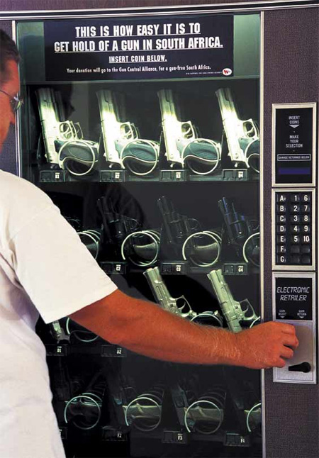 Gun Vending Machine