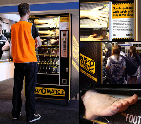 Replacement Body Parts Vending Machine