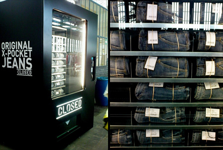 Jeans Vending Machine