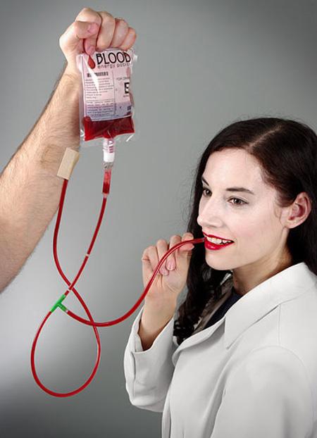 Blood Caffeinated Energy Potion
