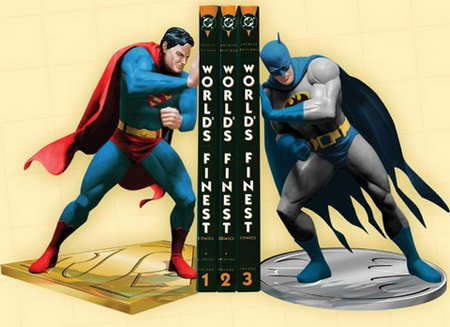 Batman vs Superman Bookends