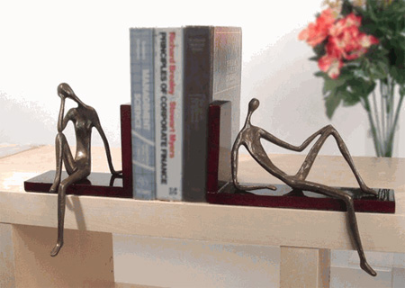 Contemplation Bookends
