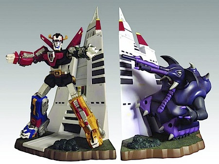 Voltron Bookends