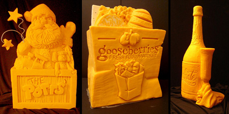 15 Amazing Cheese Sculptures