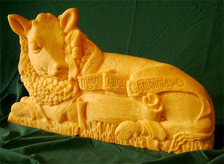 Amazing Cheese Sculptures 3